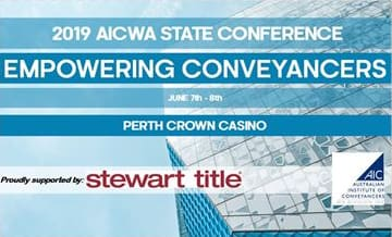 2019 AICWA State Conference