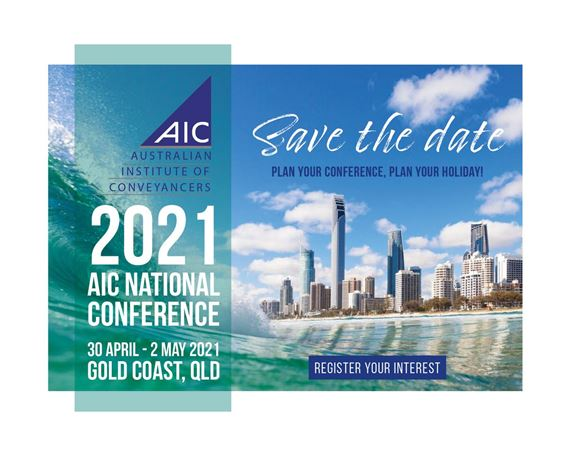 "2019 AIC NATIONAL CONFERENCE ""Shaping our Future"""